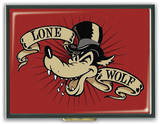 Lone Wolf Cigarette Case Novelty