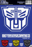 Be Transformed Vinyl Decal Wall Decal