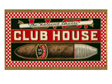 Ad for Club House Cigar Prints