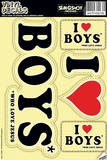 I Love Boys Who Love Jesus Vinyl Decal Wall Decal