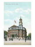 Courthouse, Norwich, Connecticut Prints
