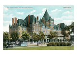 Place Viger Hotel, Montreal, Canada Prints