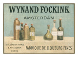 Wynand Fockink, Fine Liqueurs Poster