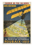Early French Air Show Poster Art