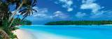 Panorama di laguna, Mar dei Caraibi Stampe