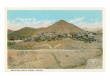 Bird's Eye View of Jerome, Arizona Posters
