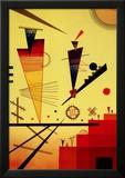 Estructura alegre Póster por Wassily Kandinsky