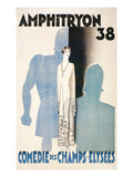 Poster for Amphitryon 38, Paris Prints