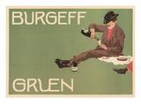 Picnic Burgeff Gruen Champagne Ad Posters