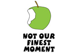 Not Our Finest Moment Laptop Skin Sticker Laptop Stickers