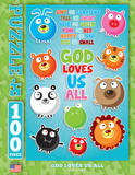God Loves Us All 100 Piece Puzzle Jigsaw Puzzle