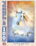 Faithful and True 100 Piece Puzzle Jigsaw Puzzle