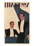 Eddy- Johnny Piano Duet Poster Poster
