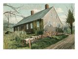 Porter House, Naugatuck, Connecticut Prints
