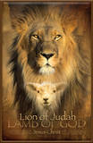 Lion of Judah Plaque Wood Sign