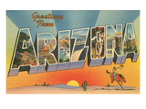 Greetings from Arizona Poster