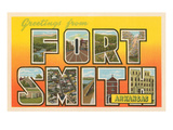 Greetings from Fort Smith, Arkansas Posters