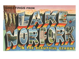 Greetings from Lake Norfolk, Arkansas Poster