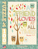 A Friend Loves At All Times 100 Piece Puzzle Jigsaw Puzzle