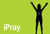 iPray (Green) Laptop Skin Sticker Laptop Stickers