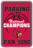 2013 NCAA Men's Basketball National Champions Louisville Fan Zone Sign Wall Sign
