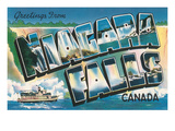Greetings from Niagara Falls, Canada Prints