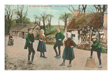 Irish Jig, Anthony, Killarney, Ireland Prints