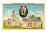 Calvin Coolidge Church and School Posters