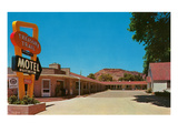 Treasure Trail Motel Prints