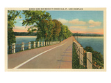 Bridge to Grand Isle, Vermont Posters