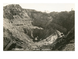 Open Pit Mine, Bisbee, Arizona Print