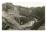 Open Pit Mine, Bisbee, Arizona Print