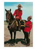Mounties Talking Prints