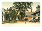 Main Street, Putney, Vermont Prints