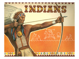Indians, Bow and Arrow Posters