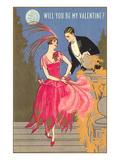Wodehouse Era Valentine Art