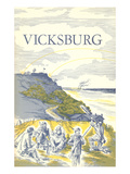 Illustration of Vicksburg Prints