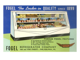 Deli Display Case Advertisement Prints