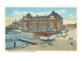 Chamberlin Hotel, Old Point Comfort, Virginia Prints