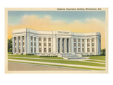 Highway Department Building, Montgomery, Alabama Poster