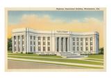 Highway Department Building, Montgomery, Alabama Poster