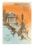 University of Virginia, Charlotteville Print