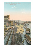 Railway Station, Wheeling, West Virginia Posters