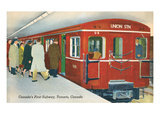 Canada's First Subway, Toronto Posters