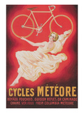 Ad for French Bicycles, Meteore Prints