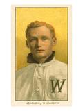 Early Baseball Card, Walter Johnson Posters