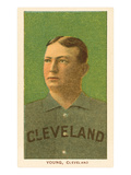 Early Baseball Card, Cy Young Posters