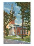 Ira Allen Chapel, Burlington, Vermont Print