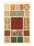 Elizabethan Border Patterns Posters