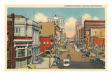 Riverside Avenue, Spokane, Washington Prints